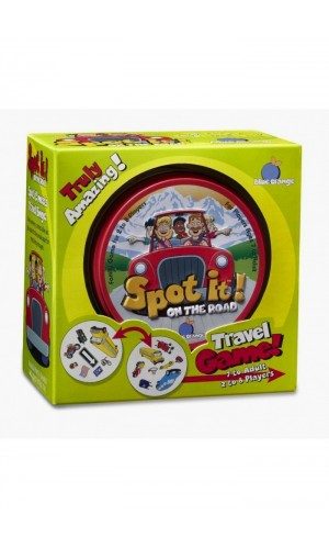 Spot it! On the Road. Board Game (7 years old to adult) [Board game Spot it! (from 7 years)]