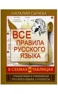 Vse pravila russkogo iazyka v skhemakh i tablitsakh 5-9 klass [Russian in Tables and Charts for 5-9 Grade]